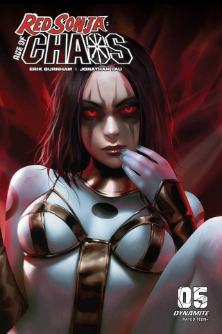 Red Sonja: Age of Chaos #5 (10 Copy Chew Sneak Cover)