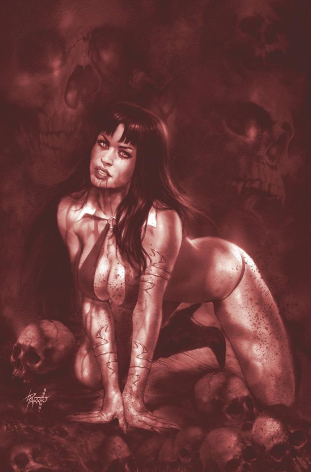 Vampirella #12 (21 Copy Parrillo Tint Virgin Cover)