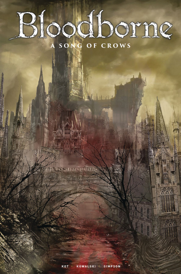 Bloodborne #12 (Game Art Cover)