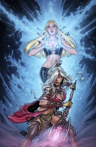 Grimm Fairy Tales: The Coven #4 (Valentino Cover)