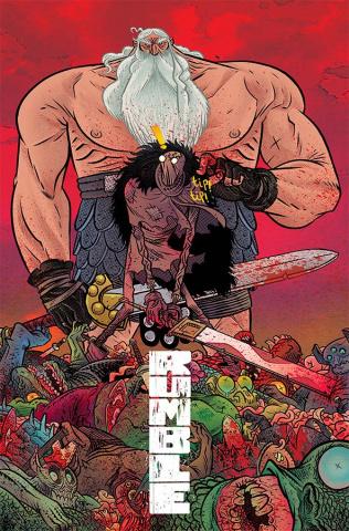 Rumble #17 (Rubin Cover)