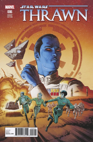 Star Wars: Thrawn #6 (Luke Ross Cover)