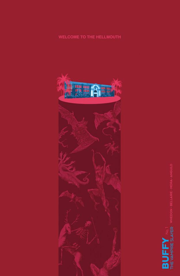 Buffy the Vampire Slayer #1 (Preorder Carey Cover)