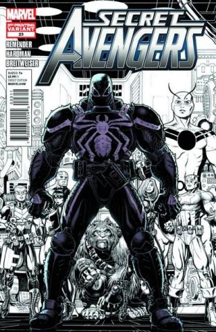 Secret Avengers #23 (2nd Printing)