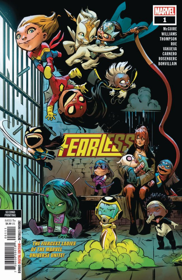 Fearless #1 (Carnero 2nd Printing)