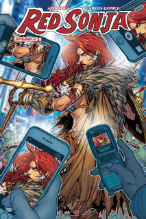 Red Sonja #9 (Meyers Cover)