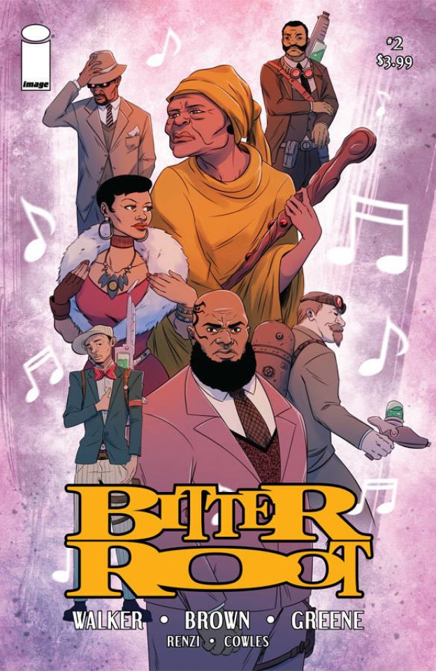 Bitter Root #2 (Woods Cover)