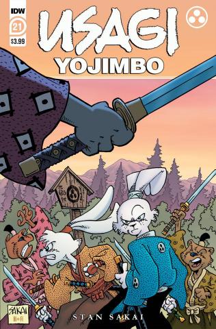 Usagi Yojimbo #21 (Sakai Cover)