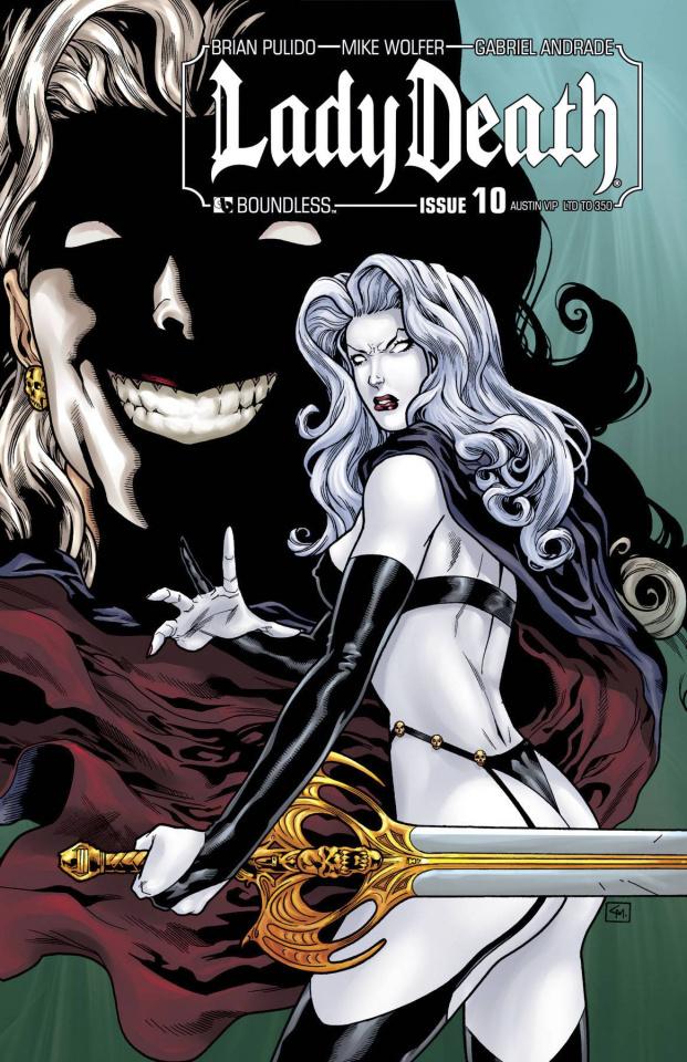 Lady Death #10 (Austin VIP Cover)