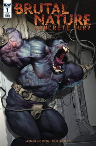 Brutal Nature: Concrete Fury #1 (Subscription Cover)