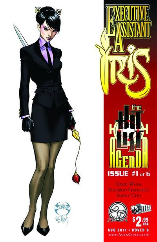 Executive Assistant Iris #1 (Benitez Cover)