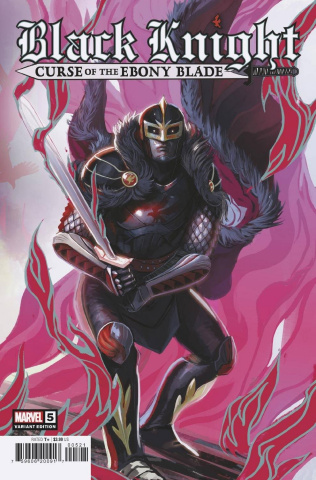 Black Knight: Curse of the Ebony Blade #5 (Hans Cover)