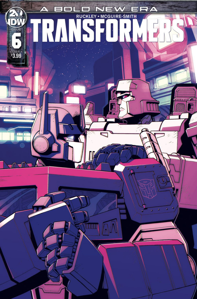 The Transformers #6 (Lawrence Cover)
