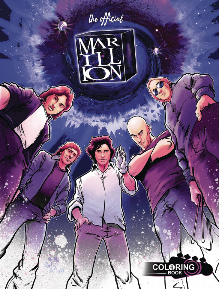 Marillion: H Years Off Coloring Book