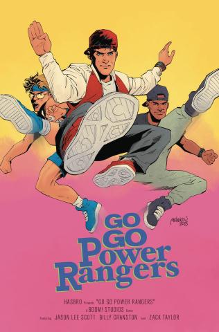 Go, Go, Power Rangers! #18 (25 Copy Melnikov Cover)