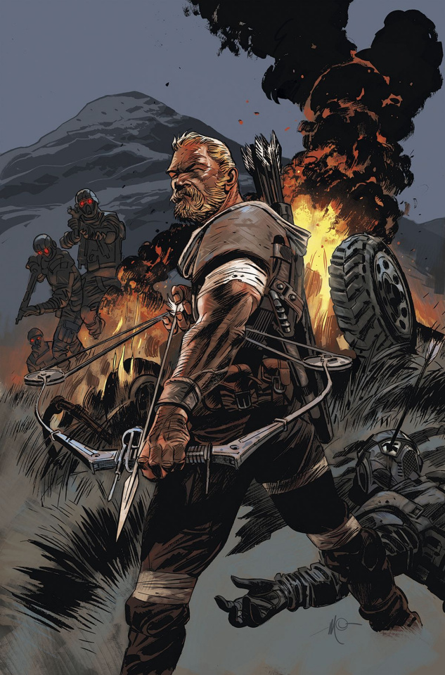 Warlords of Appalachia #1 (Carnevale Cover)