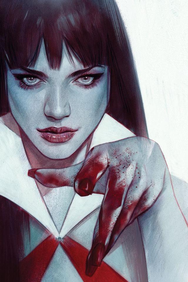 Vengeance of Vampirella #2 (Oliver Virgin Cover)