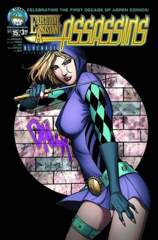Executive Assistant: Assassins #15 (Qualano Cover)
