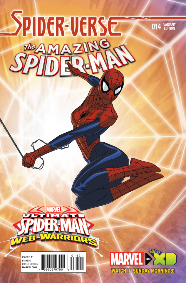 The Amazing Spider-Man #14 (Wamester Marvel Animation Cover)