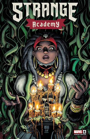 Strange Academy #4 (Adams Character Spotlight Cover)