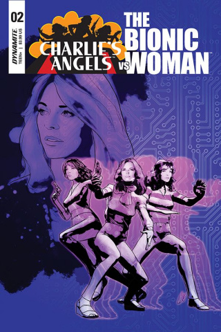 Charlie's Angels vs. The Bionic Woman #2 (Staggs Cover)