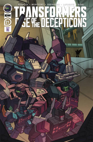 The Transformers #21 (10 Copy Murphy Cover)