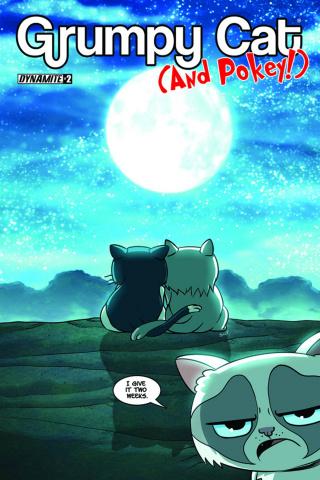 Grumpy Cat (and Pokey!) #2 (Uy Cover)