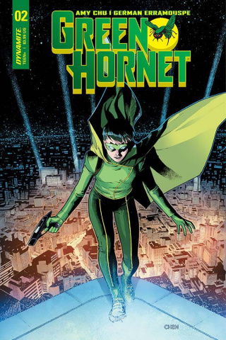Green Hornet #2 (Chen Cover)