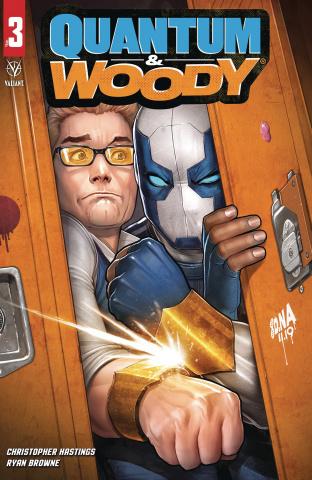 Quantum & Woody #3 (Nakayama Cover)
