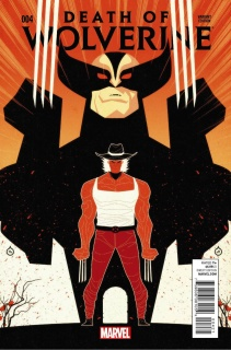 Death of Wolverine #4 (Doe Cover)