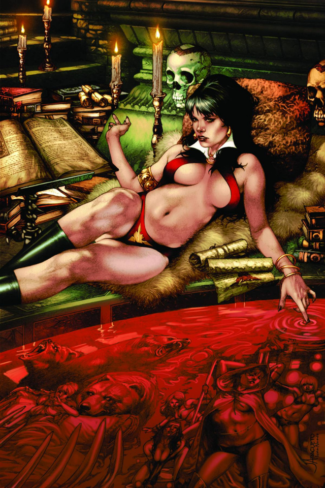 Vampirella: Feary Tales #3 (Anacleto Virgin Cover)
