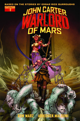 John Carter: Warlord of Mars #7 (Subscription Cover)