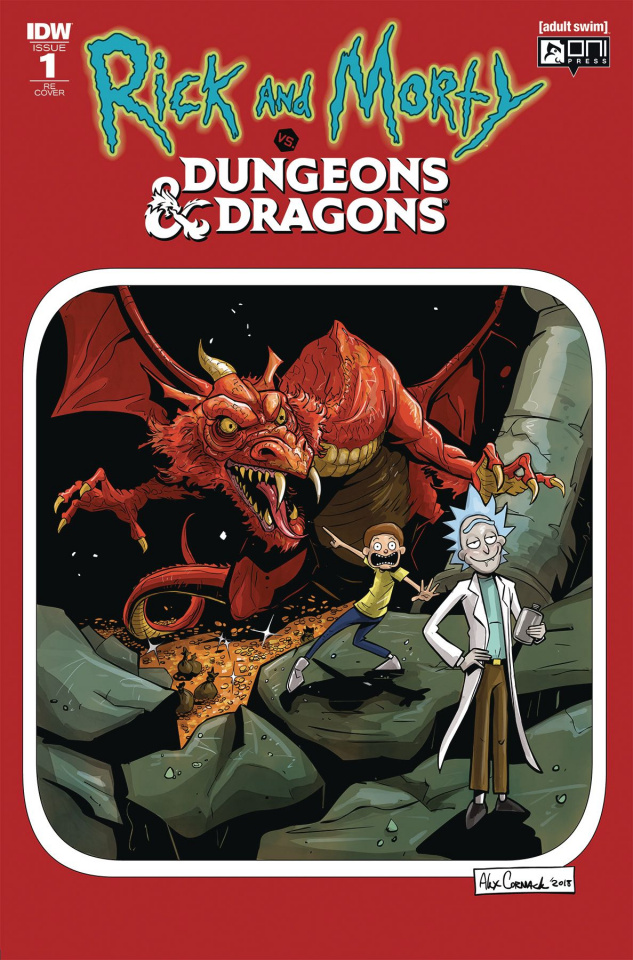 Rick and Morty vs. Dungeons & Dragons #1 (Director's Cut)