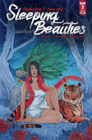 Sleeping Beauties #3 (Woodall Cover)