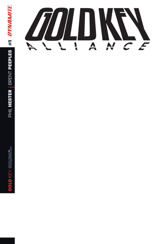 Gold Key Alliance #1 (Blank Authentix Cover)