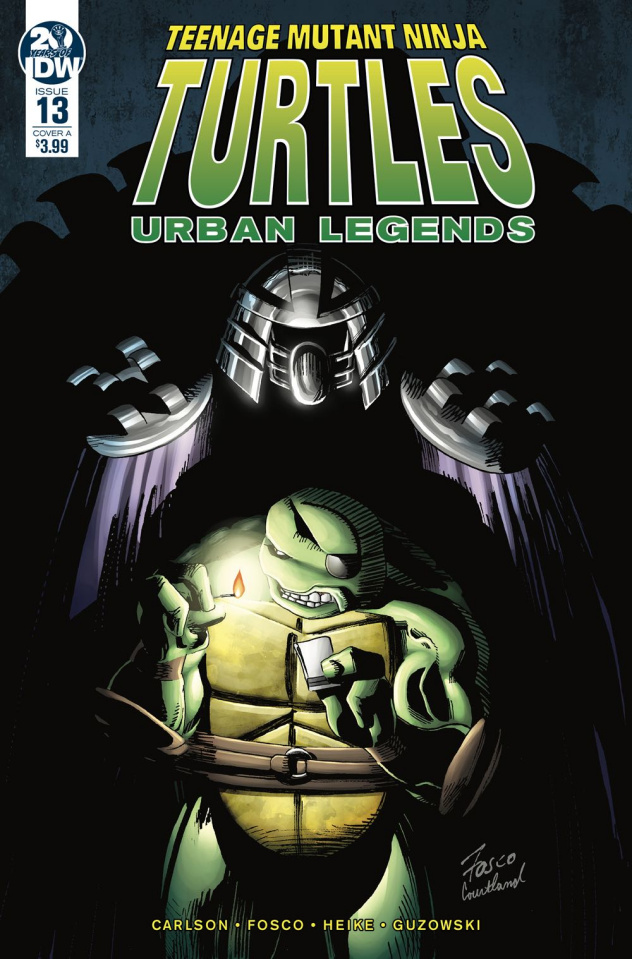 Teenage Mutant Ninja Turtles: Urban Legends #13 (Fosco Cover)