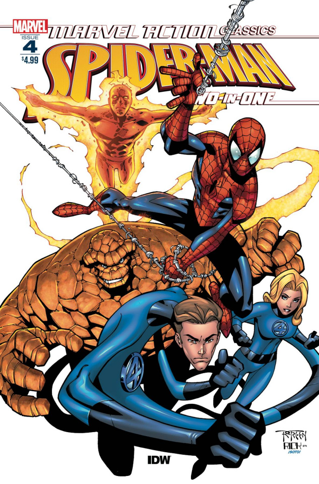 Marvel Action Classics: Spider-Man Two-in-One #4