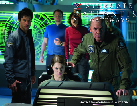 Stargate Atlantis: Gateways #2 (Flashback 3 Copy Cover)