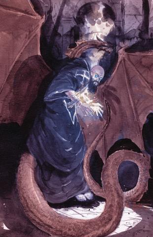 Rasputin: Voice of the Dragon #4 (Del Ray Cover)