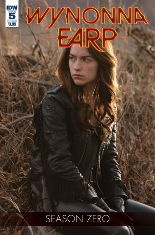 Wynonna Earp, Season Zero #5 (Photo Cover)