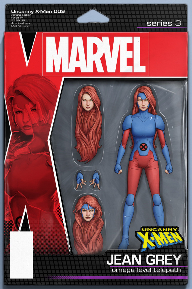 Uncanny X-Men #9 (Christopher Action Figure Cover)