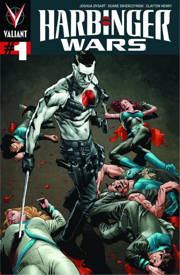 Harbinger Wars #1 (Larosa Cover)