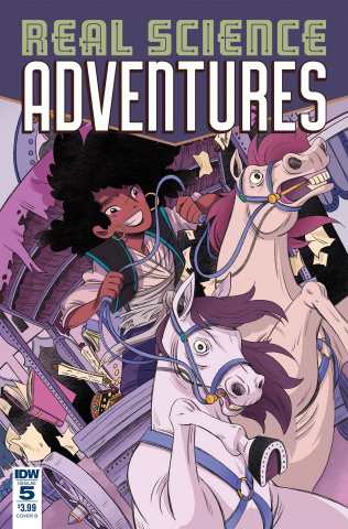 Real Science Adventures: Nicodemus Job #5 (McClaren Cover)