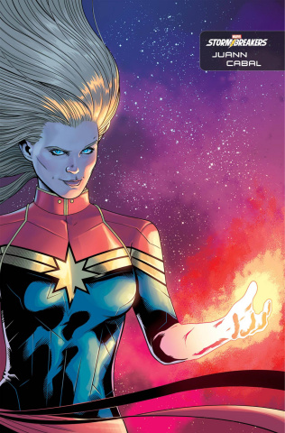 Captain Marvel #25 (Cabal Stormbreakers Cover)
