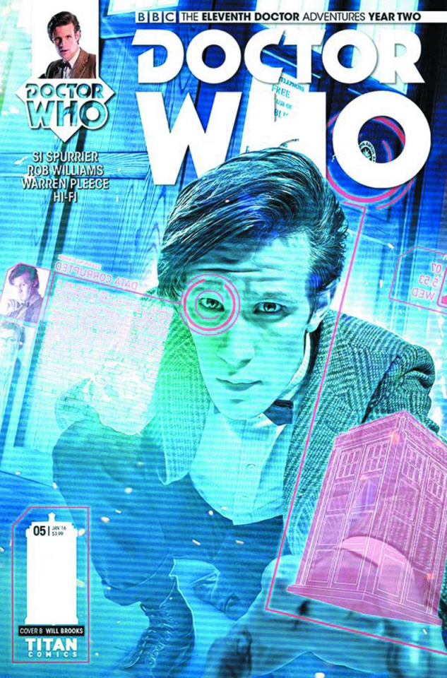 Doctor Who: New Adventures with the Eleventh Doctor, Year Two #5 (Brooks Subscription Photo Cover)