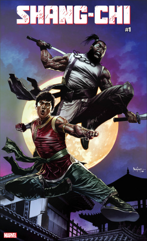 Shang-Chi #1 (Suayan Cover)