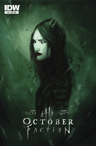 The October Faction #10 (Subscription Cover)