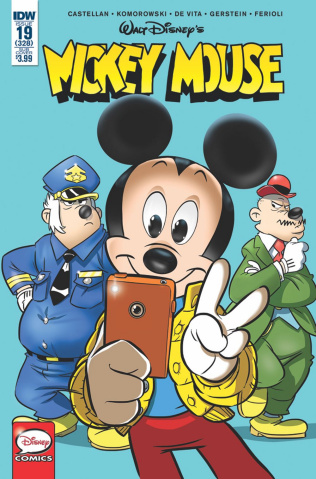 Mickey Mouse #19 (Subscription Cover)
