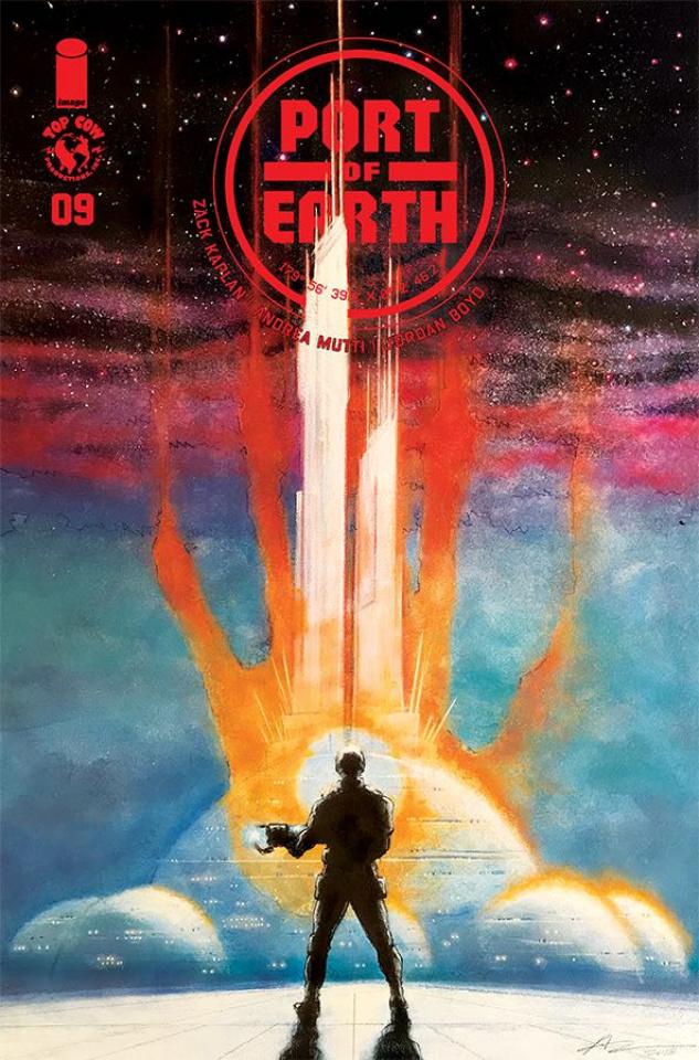 Port of Earth #9 (Mutti Cover)