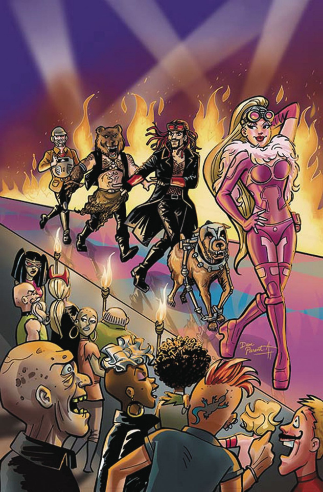 Wacky Raceland #5 (Variant Cover)